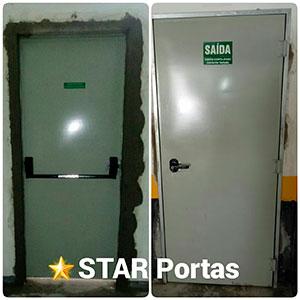 Instalação de Porta Corta Fogo